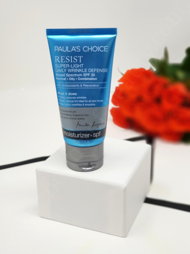 Paulas Choice Resist Super Light Anti Wrinkle Cream SPF 30 9_20180903093949312