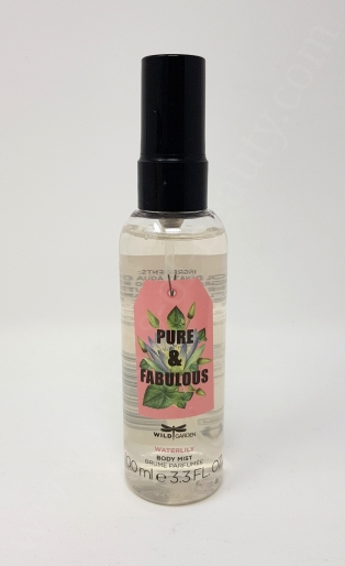 Wild Garden Pure & Fabulous Body Mist Waterlily_20180917125740730