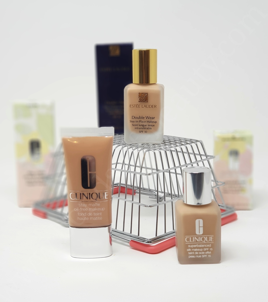 cb084cb0b Three Way Battle of Foundations: Estée Lauder Double Wear vs Clinique  Superbalanced Silk vs Clinique Stay-Matte Oil-Free. In-depth Review and  Ingredient ...