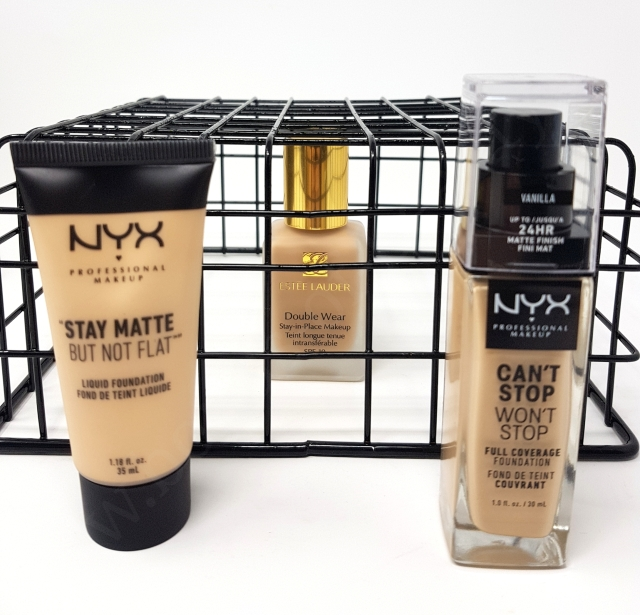 Estee Lauder Double Wear vs Nyx Foundations 2_20181127162352484