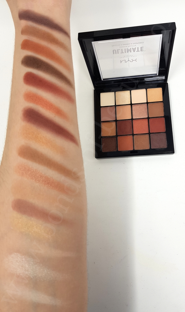 nyx warm neutrals usp03 swatches_20190120193045742