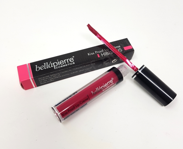 Bellápierre Kiss Proof Lip Créme in Hibiscus_20190318102521779