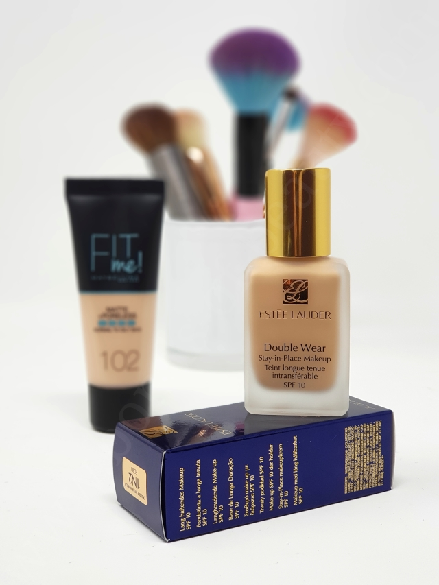 Double Wear vs Fit Me foundation 4_20190422100842280