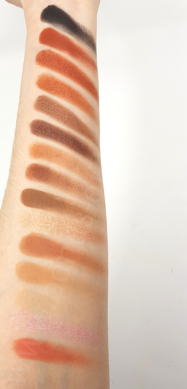 Estee Lauder AH NATURELLE eyeshadow palette swatches_20190422102207497