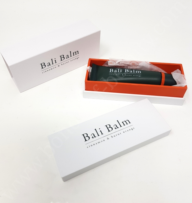 Bali Balm Lip Balm in Cinnamon & Burnt Orange