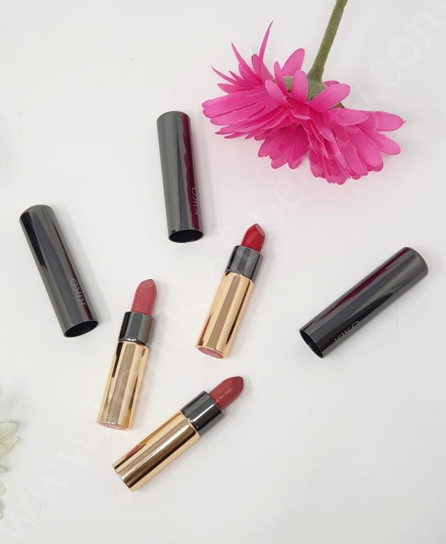 Kiko Gossamer Emotion Creamy Lipsticks 4