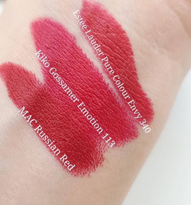 Kiko Gossamer Emotion Creamy Lipsticks 9