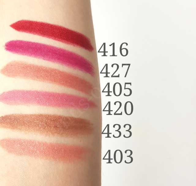 Kiko SMART Lipstick swatches_20190708113951282