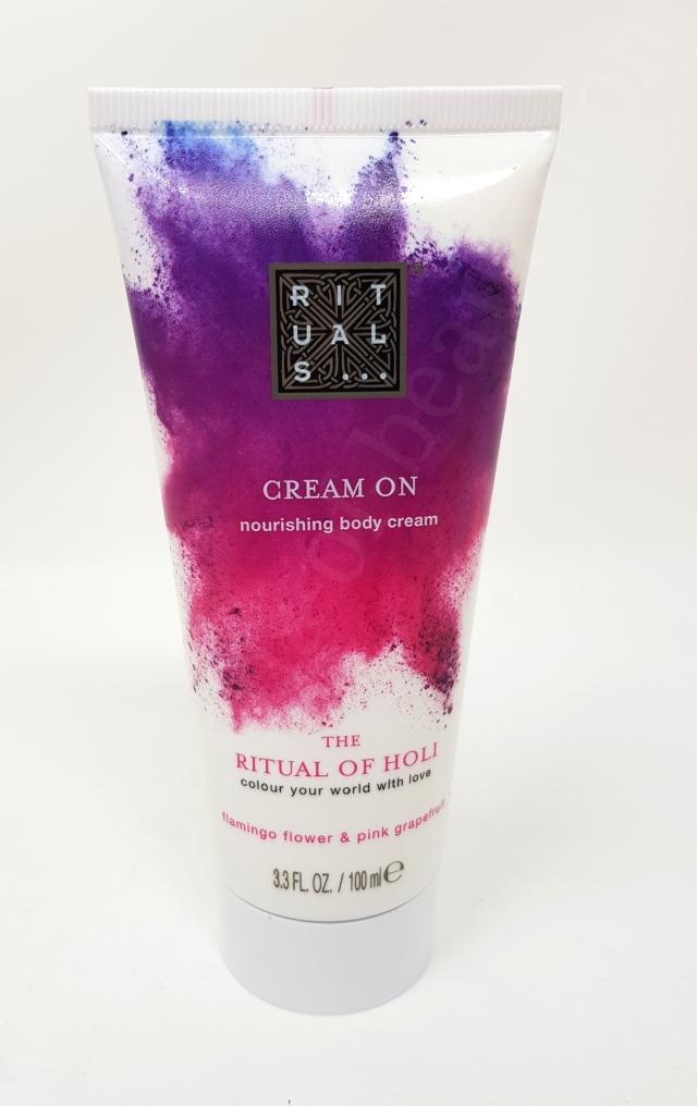 Rituals Cream On Nourishing Body Cream The Ritual Of Holi