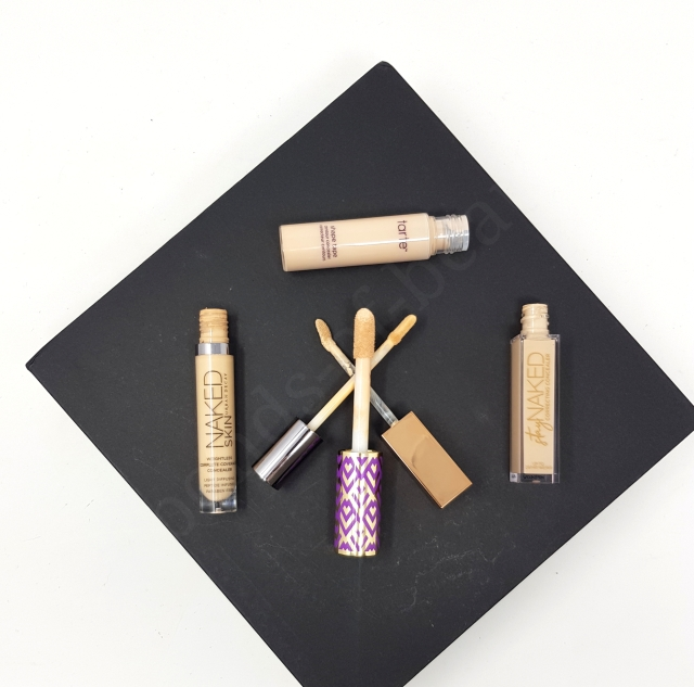 Urban Decay concealers vs Tarte Shape Tape 4