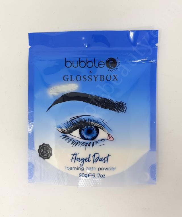 Bubble T Cosmetics Angel Dust Foaming Bath Powder