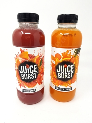 Juice Burst in Blood Orange and Orange & Carrot