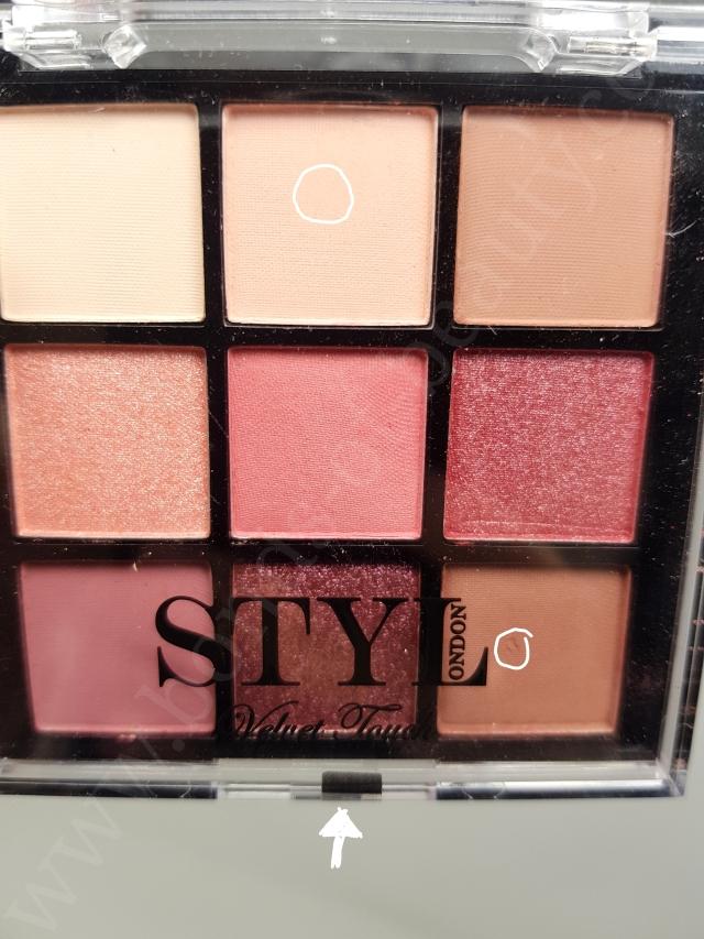 STYLONDON Velvet Touch Angel Eyeshadow Palette