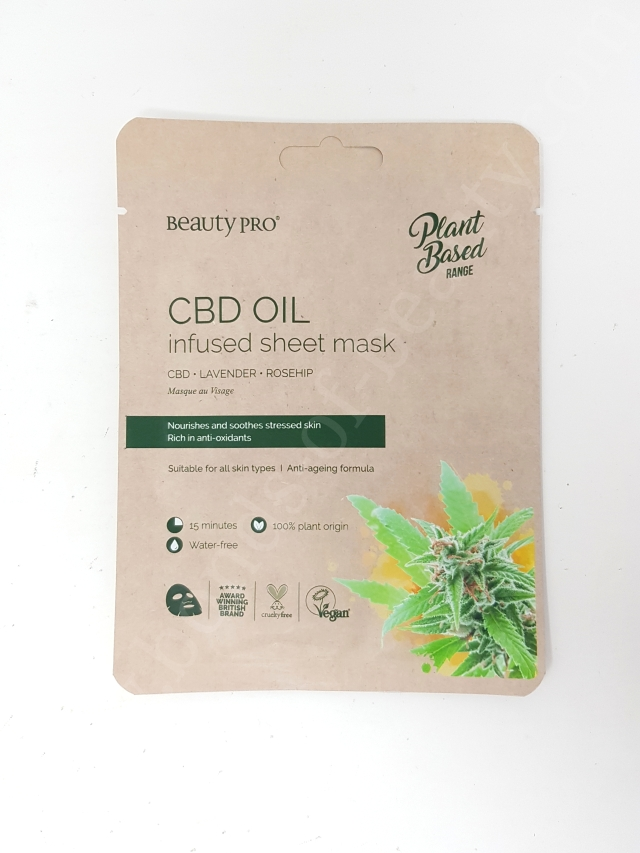BeautyPro CBD Oil Infused Mask
