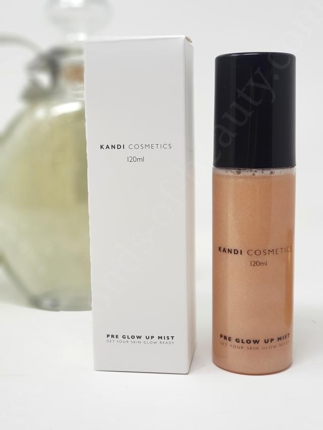 Kandi Cosmetics Pre Glow Up Mist 3