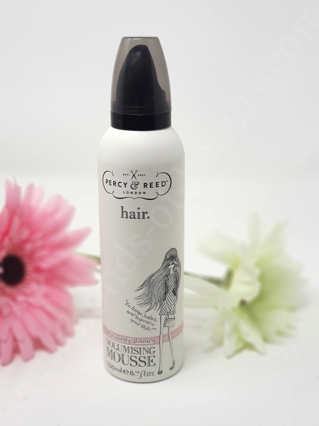 Percy & Reed Hair Volumising Mousse 3