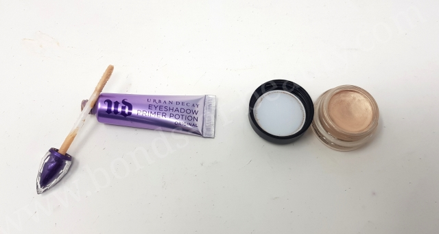 Urban Decay Eyeshadow Primer Potion vs MAC Paint Pot 2