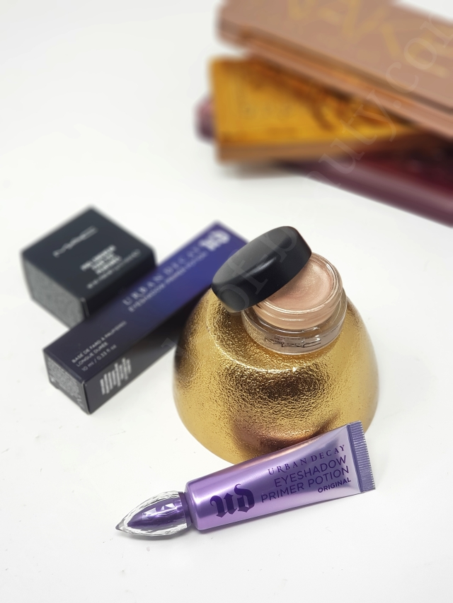 Urban Decay Eyeshadow Primer Potion vs MAC Paint Pot 5