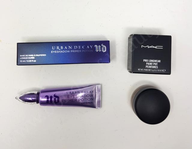 Urban Decay Eyeshadow Primer Potion vs MAC Paint Pot