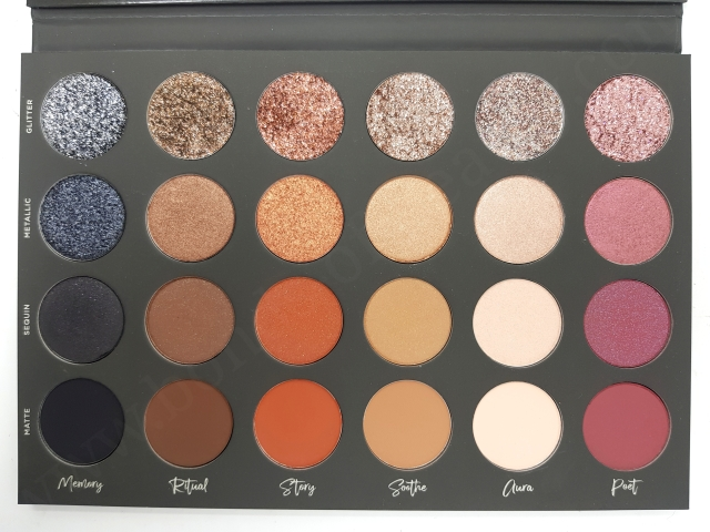 Tati Beauty Vol1 Eyeshadow Palette 7