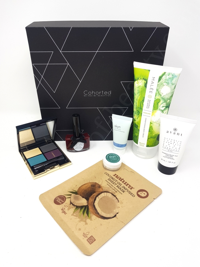 Cohorted Beauty Box March 2020 3