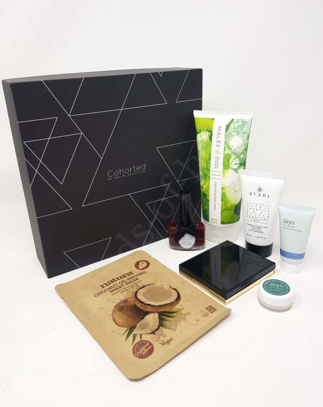 Cohorted Beauty Box March 2020 4