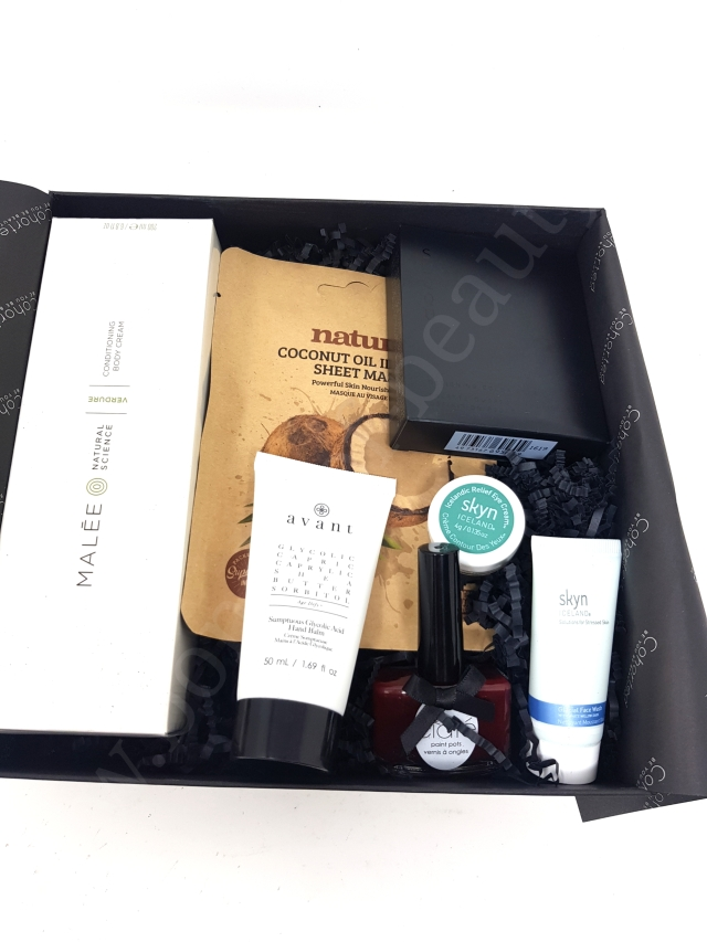 Cohorted Beauty Box March 2020 5