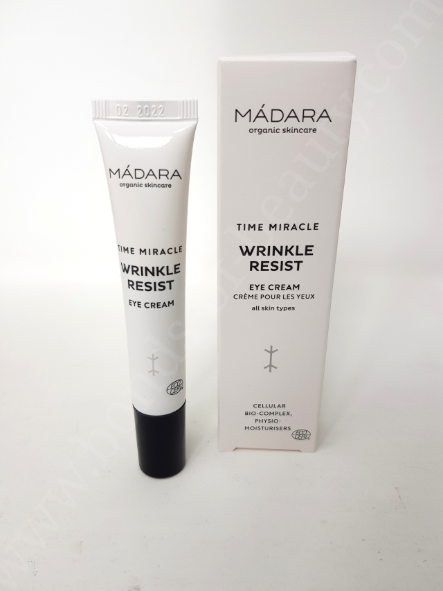 Mádara Time Miracle Wrinkle Resist Eye Cream