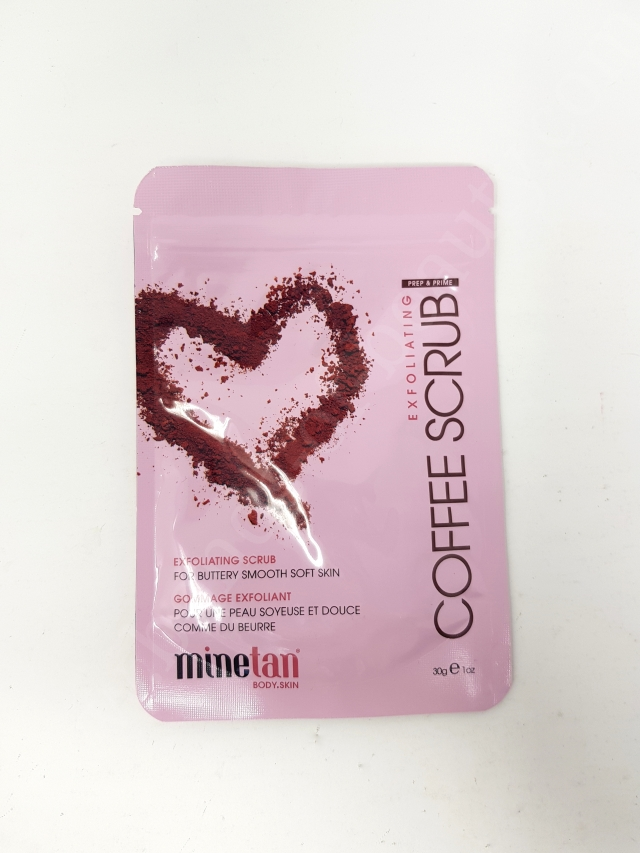 Minetan Coffee Scrub